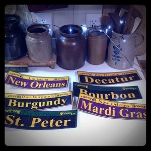 Other - 6 Mardi Gras Decorative Signs